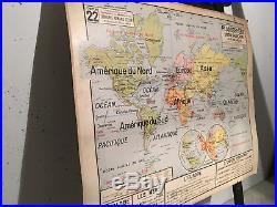 Carte scolaire Armand Colin