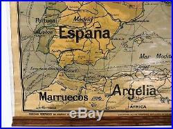 Carte scolaire Vidal Lablache Europa Politica (Europe) Mézières début 1900