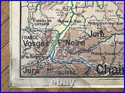 Carte scolaire Vidal Lablache n°27 Allemagne Mézières avant 1910