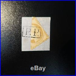 Cérès N°36 Coupé En Deux Signé Calves Oblitération Pp Sur Fragment De Lettre