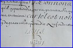 Changement de nom et darmes de Malo Joseph du Breil de Pontbriand