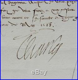 Charles IX octroie l'ordre de Saint-Michel