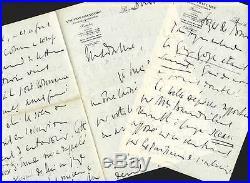Charles MAURRAS autographe / Longue lettre sur la mort de Georges GOYAU
