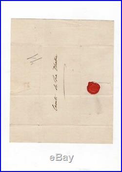 Charles X / Lettre Autographe / 1813 / Au Comte De La Chtre / Louis XVI