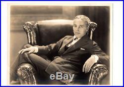 Charlie CHAPLIN Photo Dédicace Autographe Signée / 1924