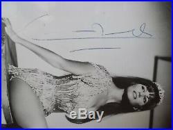 Claudia Cardinale. Autographe