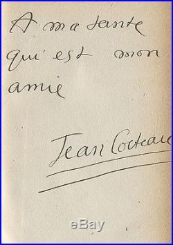 Cocteau Le Prince Frivole 1910 Édition Originale Avec Envoi Signé À Sa Tante