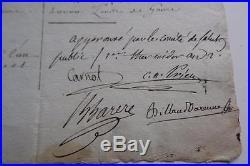 Comite De Salut Public Lettre Signee Billaud Prieur Carnot Barrere 1794