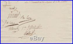 Comité de Salut Public 1794 autographe Tallien Carnot Collot d'Herbois
