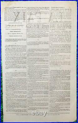 Commune de Paris (1871), Feuille volante, Appel à la Paix, Placard, Presse