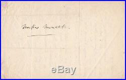 Compositeur Charles Gounod musique lettre autographe signée Marmontel mère