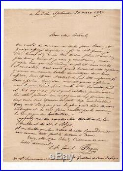 Conquête De L'algérie (1837) / Abdelkader / Bugeaud / Lettre Autographe / Oran