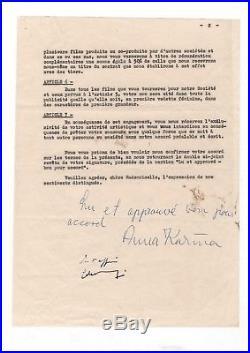 Contrat Signé (1965) Par Anna Karina / (jean Luc Godard) / Pierrot Le Fou