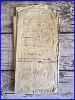 Contrat de mariage. Grand parchemin de 57x85 cm. 1549