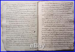 Copie d époque manuscrite du, manuscrit venu de St Helene, Napoléon