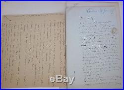 Coquelin Constant dit Coquelin Ainé 67 lettres autographes