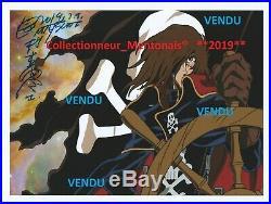 DERNIER Autographe de Leiji Matsumoto (Captain Harlock Albator 84, express 999)