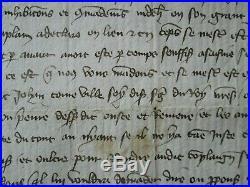 DOC MS 1373 TERRES DE CORBIGNY, débat de raison