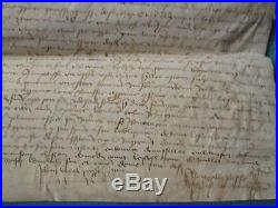 DOC MS 1446 ACQUET ESCUYER, ST AUBIN DE GUERANDE (Loire Atlantique)