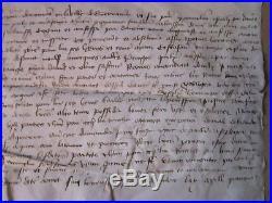 DOC MS 1452 fait à GUERANDE, bourg de ST MOLF bail prêtre (Loire Atlantique)