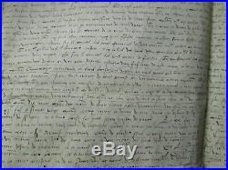 DOC MS 1532 ESCUIER SEIGNEURIE DE THUN-SAINT-MARTIN (Cambrai)