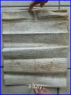 DOC MS 1541 AVEU DE FIEFS, île des Chevaliers, Loire
