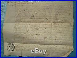 DOC MS 15 mars 1585 VENTE DE TERRES CHEVALIER SAUVIGNY (Côte d'Or)