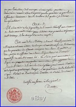 Danton / Document Signé (août 1792) / Défense De Paris / Revolution Francaise