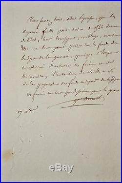 De l'île d'Elbe, le général Drouot exécute les ordres de l'Empereur