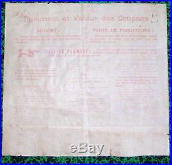 Dépt 60- Pont Ste Maxence Rare Part Très Déco Cie des Forges et Chantiers 1907