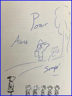Dessin autographe original signé sempé petit nicolas