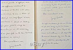 Deux lettres de Georges Bataille sur le lancement de la revue Documents