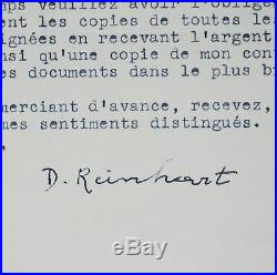 Django Reinhardt et les impôts