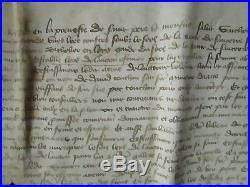 Doc Ms 1401 Mariage Ecuyer St Pierre Le Moutier / Sancerre