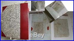 Du Bec D'ambez Sainte Foy Gironde 50 Lettres Manuscrites Soldats An II 1793