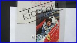 ENZO FERRARI autographe