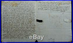 ETATS-UNIS & SAINT-DOMINGUE 1794 autographe / BON TEXTE