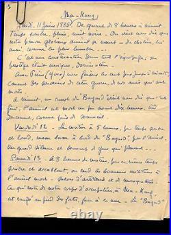 EXCEPTIONNEL ENSEMBLE DE 59 LETTRES de Samuel VIAUD fils de PIERRE LOTI