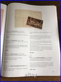 Ebauches Autographes Jean Cocteau Sur Photographies Et Cpa