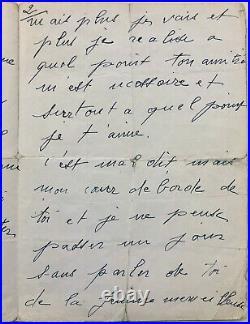 Édith PIAF Lettre autographe signée de sa dernière tournée américaine (1959)