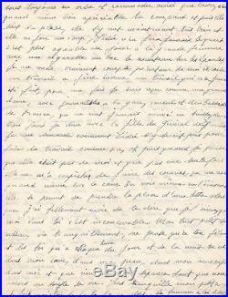 Edith Piaf / Lettre Autographe À Yves Montand / Lettre D'amour (février 1946)