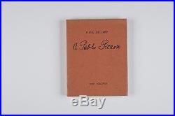 Éluard À Pablo Picasso 1944 Eo Avec Grand Dessin Et Envoi Signé À Penrose