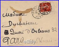 Emile Bernard peintre lettre autographe signée contre guerre 1916 Apocalypse