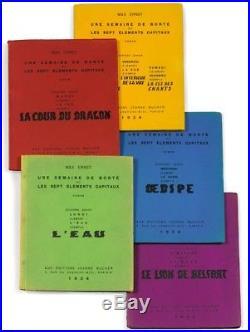 Ernst Une Semaine De Bonté 1934 Eo 1/800 Ex. Numérotés Sur Papier Navarre
