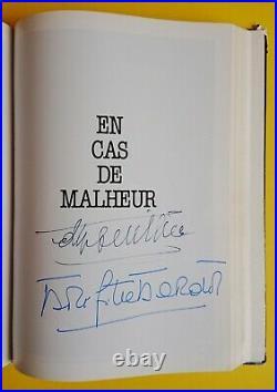 Exceptionnel et unique livre sur Jean Gabin signé par 56 acteurs et réalisateurs