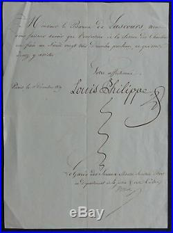 Famille d'ORLEANS, EXCEPTONNEL ensemble d'autographes