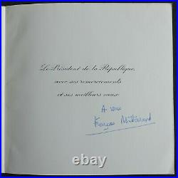 François MITTERRAND autographe