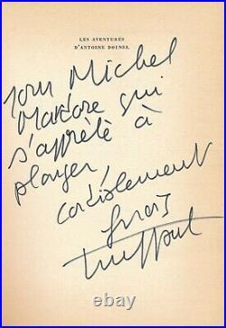 François TRUFFAUT Envoi autographe signé Michel MARDORE