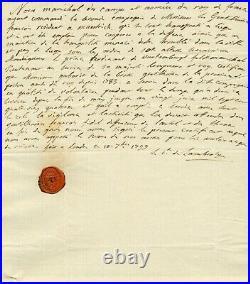 GARDE du CORPS de LOUIS XVI autographes / REVOLUTION / EXCELLENT DOSSIER
