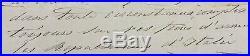 GARIBALDI GIUSEPPE -Lettre autographe signée- Lettera autografa firmata- Caprera